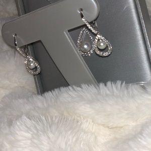 10K Diamond & Pearl Set